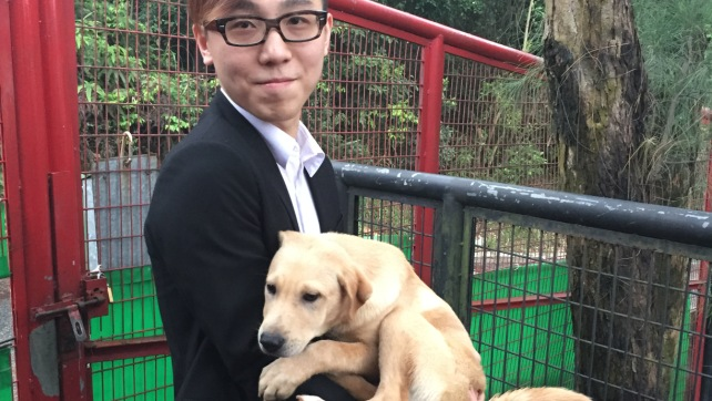 1434-Moe with the adopter (2)