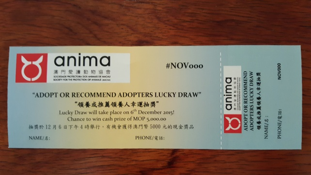 Adopter Lucky Draw Ticket (2)