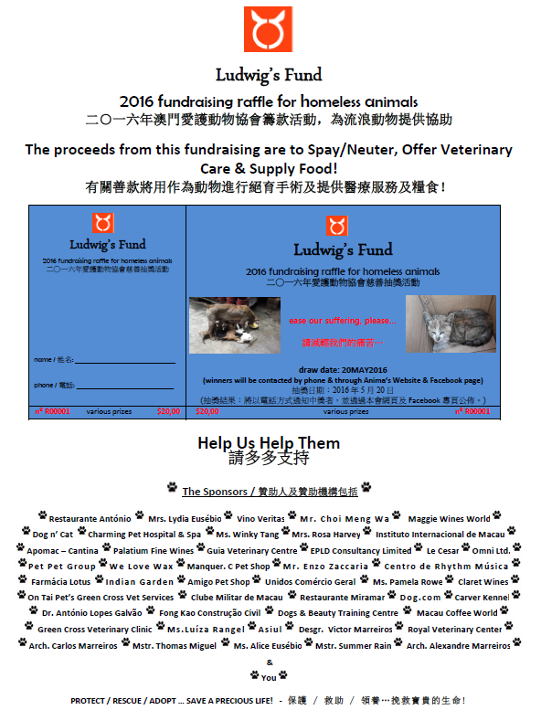 2016 Fundraising Full Poster