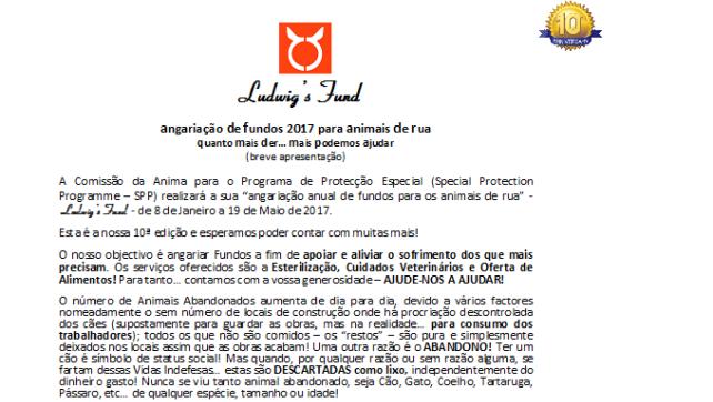 2017 Fundraising for homeless animals-PT (1)